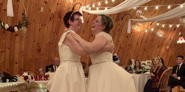 Alex & Kaela's first dance.