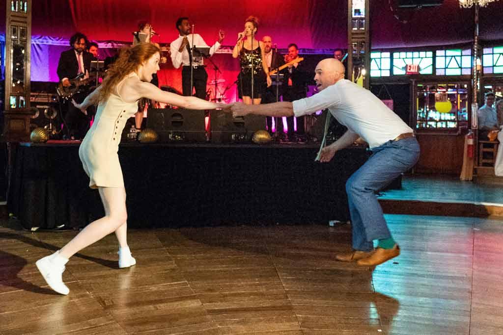 Mackie & David - Lindy Hop First Dance at Wedding.