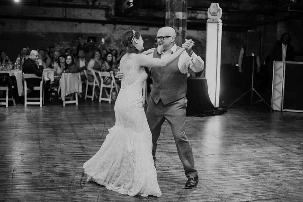 Emily & Paul, father / daughter wedding dance.