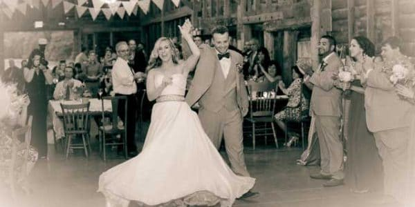 Kaitlin & Frank's first dance.