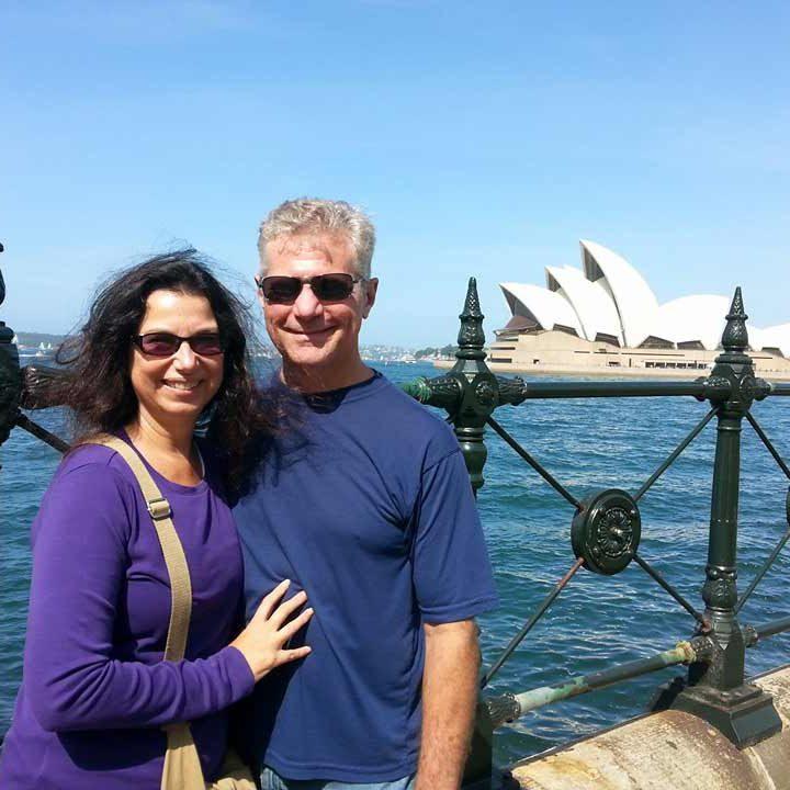Linda & Chester teaching in Australia